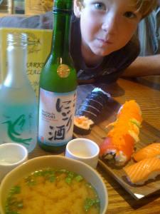 sushi & sake