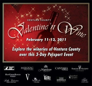 Ventura's Valentine n'Wine Weekend 2011: A Passport to Some Fine Wine Times!