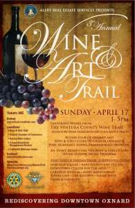 Wine & Art Walk in Downtown Oxnard Benefits Afterschool Music Programs