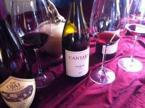 Grenache Day 2012 & Last day of summer celebration with Ojai Vineyards & Cantara Cellars