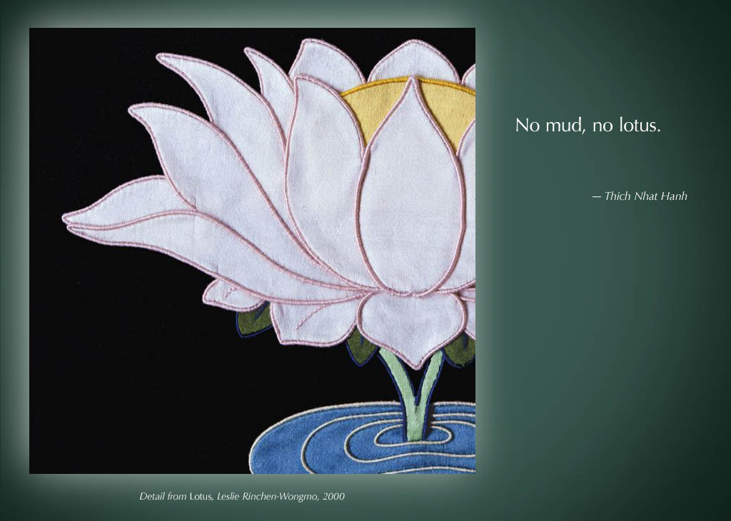 Thich Nhat Hanh No Mud No Lotus Wine Predator