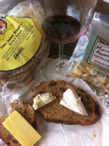 my lunch paired with Syrah!