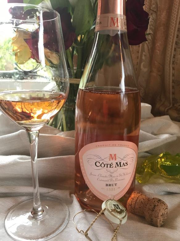 Kết quả hình ảnh cho cote mas cremant de limoux rose brut