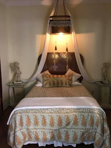 the bedroom at Desolina House