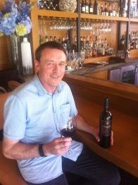 winemaker Brett Jackson photo by G. Alley