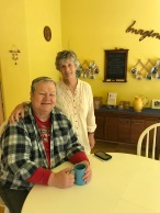 innkeepers Lucinda and Darryl