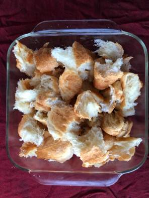 tear up 6 mini croissants