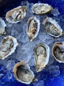 oysters pair well with Roussanne